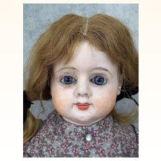Antique Patent Washable Papier Mache Doll