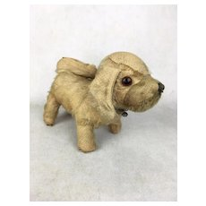 Vintage mohair character dog