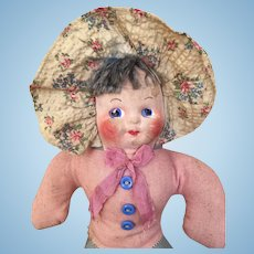 Vintage mask face baby doll