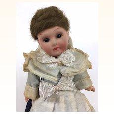 German miniature bisque head doll, Armand Marseille 390