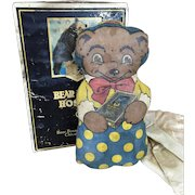 Advertising premium for Bear Brand Hosiery in original box