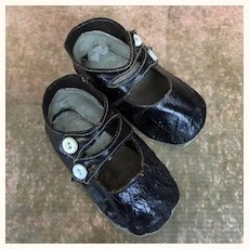 Antique shoes for larger doll