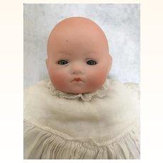 Herman Steiner baby doll with bisque head