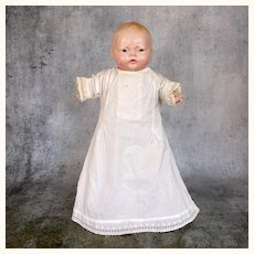 Vintage Royal Baby with composition head and arms