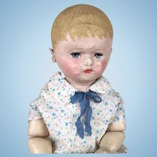 Early Martha Chase cloth doll with very sweet face