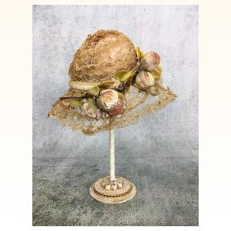 Vintage doll hat