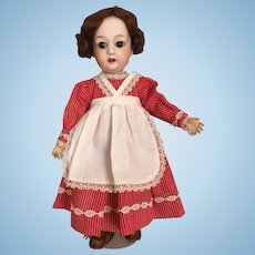 German Bisque Character Doll by Gebruder Heubach