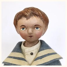 Cooper Finney, an artist boy doll by Lora Soling
