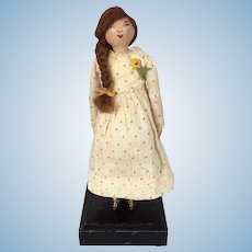 Kirby Willets, a handmade artist doll by Lora Soling