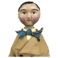 Artist Doll, Lora Soling Doll, OOAK doll, papier mache doll