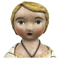 Artist doll by Lora Soling, OOAK doll, Miss Lizette Fulton, Lora Soling Dolls
