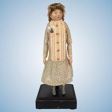 Luellen Simmons, a handmade artist doll by Lora Soling