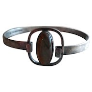 Vintage  Kalevala Koru  916H Silver With Labradorite Bracelet, Scandinavian, Finland