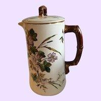 Antique English Aesthetic Movement Coffee Pot Mid 19th Century
