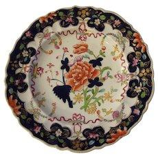 Antique Mason's Ironstone Plate Imari Colors Impressed Mark