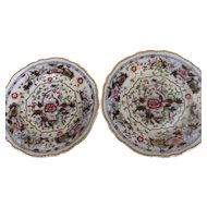 Pair of Early 19th Century Marked Grainger Worcester Plates
