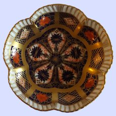"""Royal Crown Derby 4.25"""" Pin Dish Old Imari Pattern"""