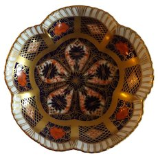 "Royal Crown Derby 4.25"" Pin Dish Old Imari Pattern"