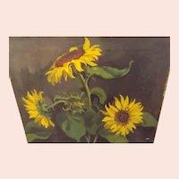 Original Jack Meanwell Oil on Canvas circa 1940