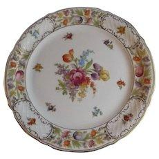 """Schumann Empress Dresden Flowers 7.75"""" Salad Plate"""