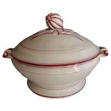 Vintage Booths Floradora Milk Jug & Sugar Bowl Pottery & Glass