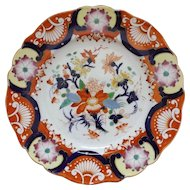 Wonderful Late 19th C. Plate with Imari Decoration