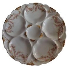 Antique Haviland Limoges 19th Century Oyster Plate - Red Tag Sale Item