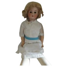Antique S H (PB) Germany 1906 Bisque Head Doll