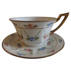 Stunning Antique Flambeau Limoges Cup & Saucer...5 Available