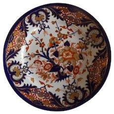 Antique English Derby Plate c.1806-1825