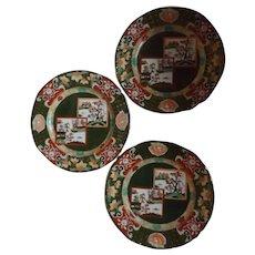 """10.5"""" Mason's Ironstone Double Landscape Plate Richard Briggs Boston"""