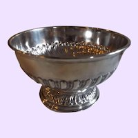 Gorgeous c.1902 Sheffield English Sterling Silver Compote