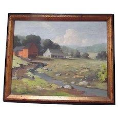 Listed Artist Orrin Draver Oil on Canvas