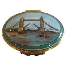 Vintage Halcyon Days Trinket Box
