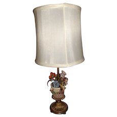 To Die For Floral Encrusted Table Lamp