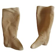 Pair of Antique Doll Stockings