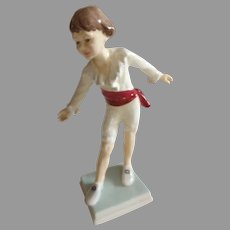 Charming Royal Worcester Figurine