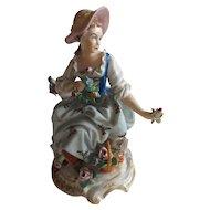 Exquisite Antique German Sitzendorf Figurine