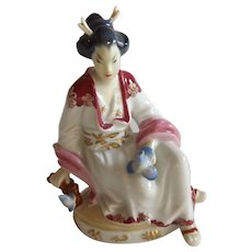Amazing Wien Augarten Austria Geisha Figurine