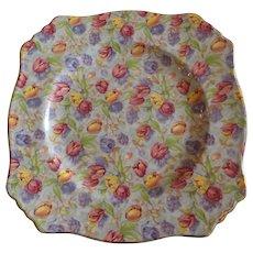 Royal Winton Chintz Plate Stratford Pattern