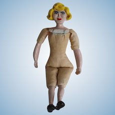 Very Funky Vintage Folk Art Doll...One of Three!