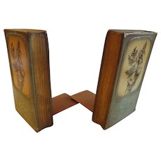 Pair of Italian Florentine Firenza Bookends