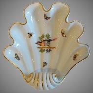 Herend Rothschild Bird Shell Dish