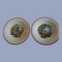 Pair of Antique English Ashworth Plates