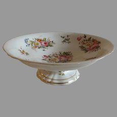 Antique 19th Century Paris Porcelain Compote