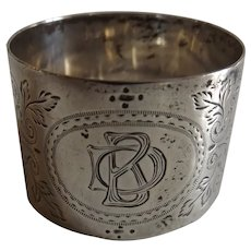 Antique Sterling Silver English Napkin Ring