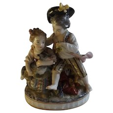 Beautiful Antique Sevres Figurine