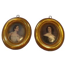 Pair of Exquisite Vintage Borghese Pictures
