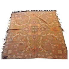 Antique 19th Century Paisley Shawl