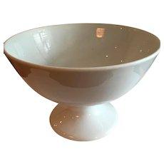 Fabulous Antique White Ironstone Punch Bowl